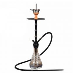Cachimba Caesar Captain - Matt Black Shining Coffee -
