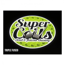 Pack 2 Resistencias Triple Fused- Super Coils