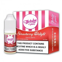 E-Liquid Strawberry Delight -Indulge- 3x10 ml (3mg Nicotina)