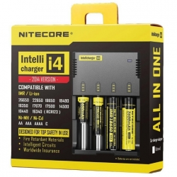 Cargador Nitecore Intellicharge i4
