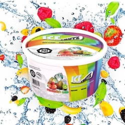 Gelatinas Ice Frutz Strawberry Green - 100 gr