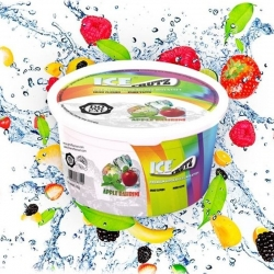 Gelatinas Ice Frutz Apple Bahrini - 100 gr