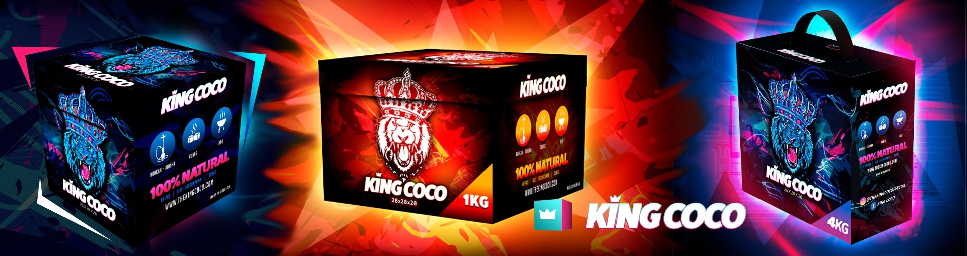 Carbón King Coco